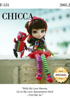 Pullip Chicca (F-531) - Do you have her?