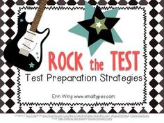 Want to rock the test? This resource includes materials to help you introduce and practice test-taking strategies to prepare your students for standardized tests. $