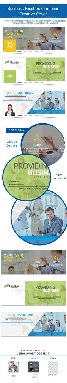 Business Facebook Cover Template PSD #design Download: http://graphicriver.net/item/business-facebook-cover/12051274?ref=ksioks