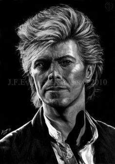 David Bowie VIII by Kalasinar on DeviantArt
