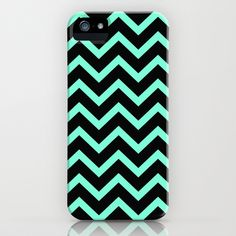 Minty Chevron Phone Case