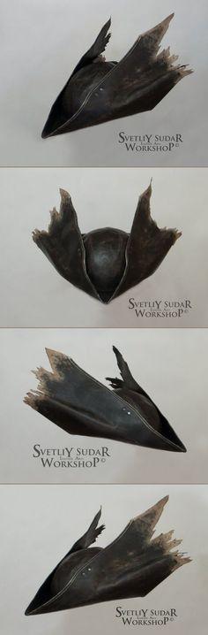 235,00 € Bloodborne Hunter Leather Hat replica (v.2) / LARP / Fantasy style / cosplay / handmade https://www.etsy.com/ru/listing/478590308/bloodborne-hunter-leather-hat-replica-v2?ref=shop_home_active_1