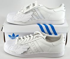 91241f738d64 Adidas Originals Jeremy Scott Superstar Wings White B26282  339.00