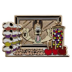 Pluto Main Street Candy Palace Pin - Online Exclusive | Disney Parks Product | Pins | Disney Store $12.95