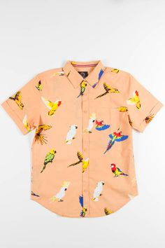 999a954afd 16 Best Tropical shirts images | Casual button down shirts, Button ...
