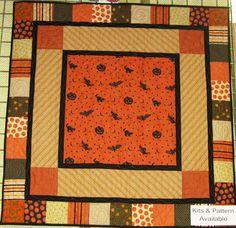 Fabric Mill: Halloween quilt