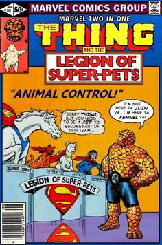 Super-Team Family: The Lost Issues!: The Thing and The Legion of Super-Pets