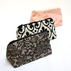 Bridesmaid Gift- Makeup Bag DIY