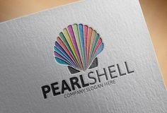 Pearl Shell Logo by josuf on Creative Market