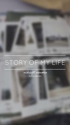Story Of My Life • Midnight Memories Lockscreen — ctto: @stylinsonphones