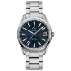 Omega Seamaster Aqua Terra MM Co-axial Black Dial ⋆ electialuxury Seamaster Aqua Terra, James Bond, Omega Seamaster Automatic, Pre Owned Watches, Breitling, Luxury Watches, Michael Kors Watch, Omega Watch, Product Launch