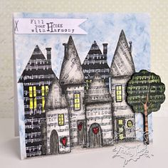 Harmony in your Home by aislinnshannara - Cards and Paper Crafts at Splitcoaststampers