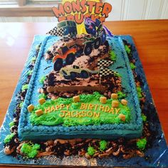 This AMAZING cake was made by my good friend, children's book author Lindsay Ward for her son's birthday! He loves the book, and wanted a Monster Trucks-themed birthday party. (photo creds to Lindsay) Sons Birthday, Happy Birthday, Esquire, Book Authors, Birthday Party Themes, Amazing Cakes, My Best Friend, Childrens Books, Monster Trucks