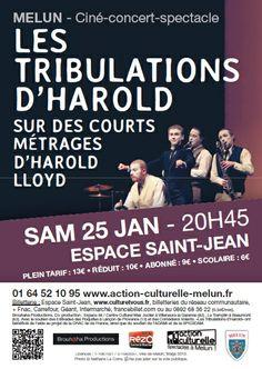 """Les Tribulation d'Harold""  Saison culturelle 2013-2014 Melun / ©Mdalpra"
