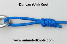 Duncan (Uni) Knot | How to tie a Duncan (Uni) Knot | Fishing Knots
