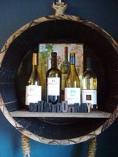 wine barrel wine bar