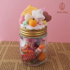 Little Twin Stars × Dolce Deco ~2014 Happy Halloween Limited Item~ Candy pot