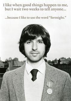"Demetri Martin on the word ""fortnight."""