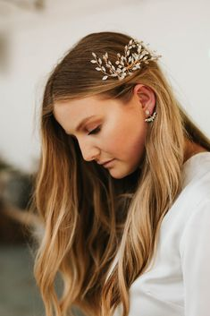 Formal Hairstyles, Pretty Hairstyles, Different Hairstyles, Wedding Hairstyles, Hair Inspo, Hair Inspiration, Wedding Inspiration, Honey Blonde Hair, Aesthetic Hair