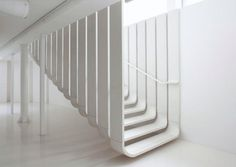 Zaha Hadid Architects staircase in Ductal®