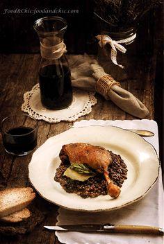 Vuelta al mundo en 80 recetas: 17-FRANCIA: Confit de pato con lentejas verdes de Puy
