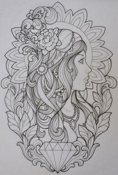 pin af lena krolmark p tattoo pinterest tattoos tattoo designs og gypsy tattoo design. Black Bedroom Furniture Sets. Home Design Ideas