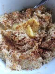 Oppskrift på herlig kokosgrøt (lavkarbo, melk og glutenfri)