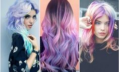 Get your glow on with the moonstone rainbow hair trend | hair dye - hair trends…