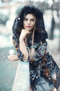 always good to wear brilliant colors in the snow it ll make the