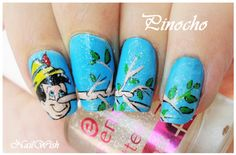 Nail Wish: Disney Challenge Day 1: Pinocho