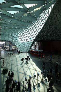Fiera Milano Rho by Fuksas.