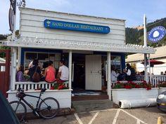 The classics: the Sand Dollar, serving Stinson Beach since 1921
