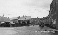 Oslo. Parti fra Torshov. Aasen Gaten. Ca1930-1940. Till vänster ligger Sandakercenter och upp för backen bodde Jonas.
