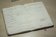 Mein Blogplaner. #DIY #Blogplanet #moleskine #Blog #blogger #filofaxing #organisieren #planer