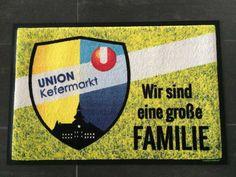 Union Kefermarkt - Fußmatte #Fussmatte #doormat #matmaker #Fußball