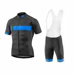 Giant Black Blue Short Sleeve Cycling Jersey Set Cycling Clothing 84e19f74d