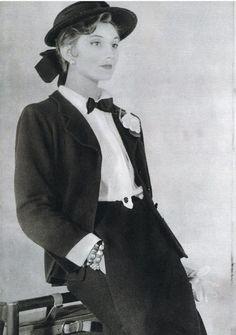 Image result for balenciaga 1954