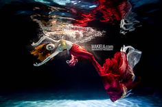 Rafal Makiela is a professional photographer that specializes in underwater fashion photography, commercial advertising, and weddings. His works evoke a sense of dreamlike wonder and have appeared in several newspapers and periodicals in the form of advertisements and editorials.