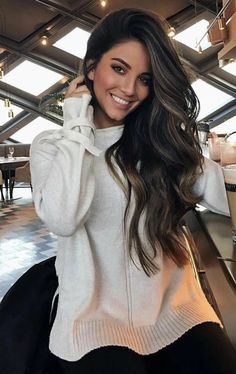 Long Shaggy Bob - Brown Ombre Hair Solutions for Any Taste - The Trending Hairstyle Brown Hair Balayage, Hair Highlights, Ombre Hair, Brunette Hair Chocolate Caramel Balayage, Color Highlights, Dark Brunette Hair, Brunette Color, Corte Y Color, Pinterest Hair