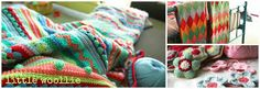 Image result for how to decorate a crochet blanket