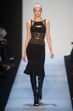 No one does a bodycon dress quite like Herve Leger - see the #NYFW collection here:  http://uk.bazaar.com/1gfrCca