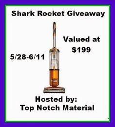 Shark Rocket Giveaway » Priceless Product Reviews, Giveaways and Freebies