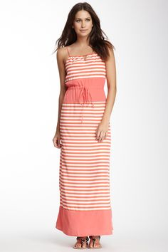 Maxi Dress...I'd probably look 9 and 1/2 months pregnant in it, but it's pretty. LOL