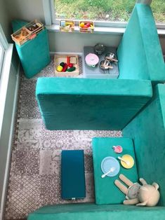Toddler Play, Baby Play, Kids Couch, Playroom Design, Playroom Ideas, Kids Play Spaces, Toy Rooms, Branding, Infant Activities