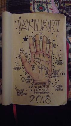 awesome palmistry book of shadows page xo Wiccan Witch, Wicca Witchcraft, Magick Book, Bullet Journal Themes, Bullet Journal Inspiration, Grimoire Book, Wreck This Journal, Witch Aesthetic, Palmistry