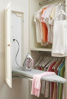 My Dream Home: Reach-In Closet Storage Solutions from http://annezca.blogspot.com