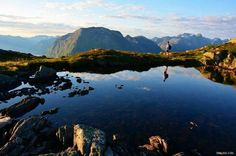 Romsdalseggen, Åndalsnes, Norway.