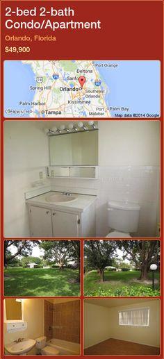 2-bed 2-bath Condo/Apartment in Orlando, Florida ►$49,900 #PropertyForSaleFlorida http://florida-magic.com/properties/62944-condo-apartment-for-sale-in-orlando-florida-with-2-bedroom-2-bathroom