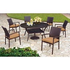 Coral Gables Dining Set  Pc Outdoor Furniture Sets Outdoor