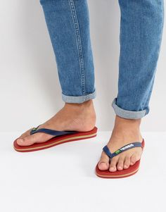 4676ff1430cf Buy Red Havaianas Flip flops for men at best price. Compare Beachwear  prices from online stores like Asos - Wossel Global
